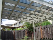 Patio Cover After Painting