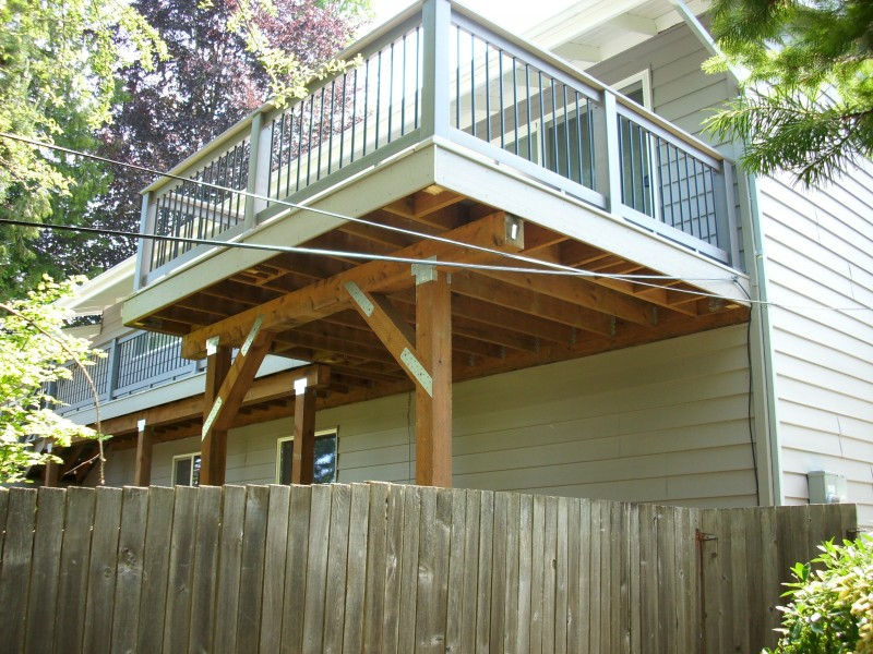 2nd story deck quotes for How to build a 2nd story floor