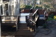 Timbertech Legacy composite deck and rail
