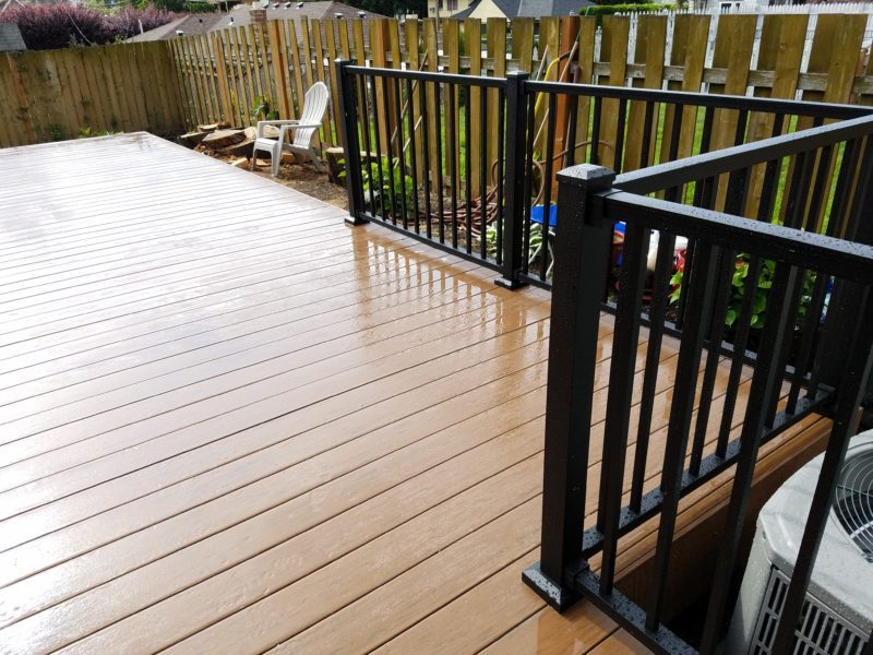 Timbertech brown oak terrain deck deck masters llc Terrain decking