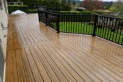 Trex Contour Torino brown decking