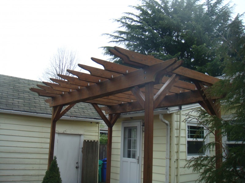 Pressure treated pergola - Composite Deck With Lights Pressure Treated Pergola – Deck Masters