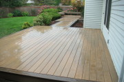 Timbertech tiger wood deck