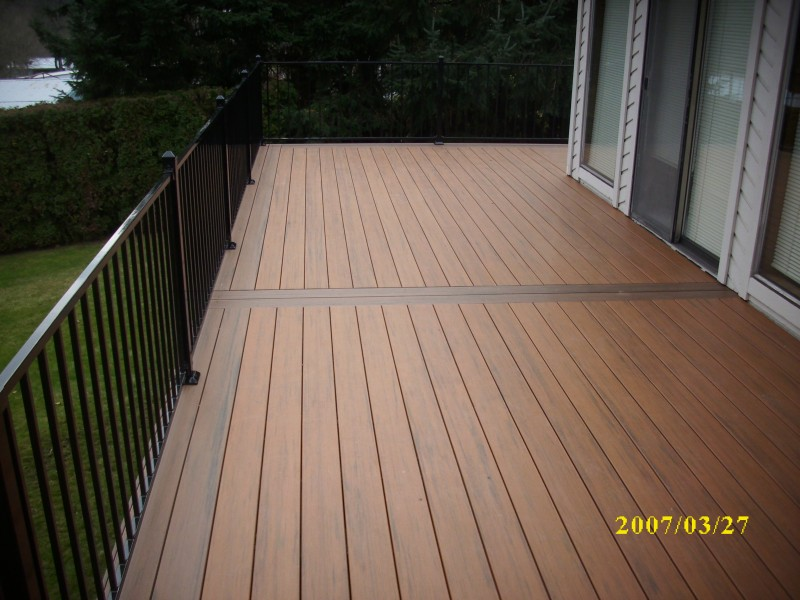 Timbertech composite decking bing images for Evergrain decking vs trex