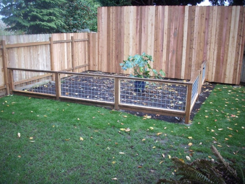 Wonderful Garden Fencing