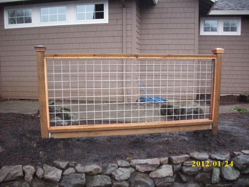 "Hog panel"" fence 