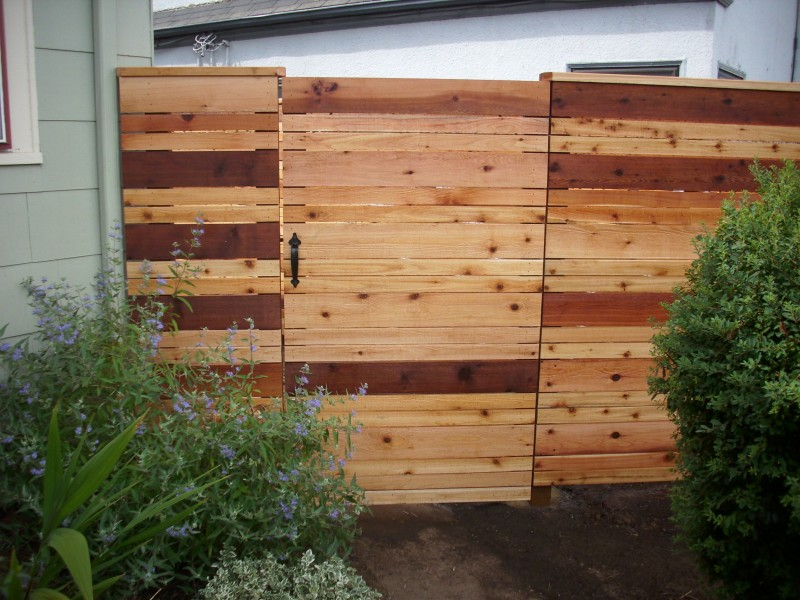 Japanese style fence Deck Masters llc Portland OR