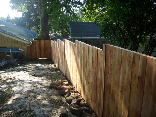 Sustainable juniper fencing deck masters llc portland or for Sustainable decking