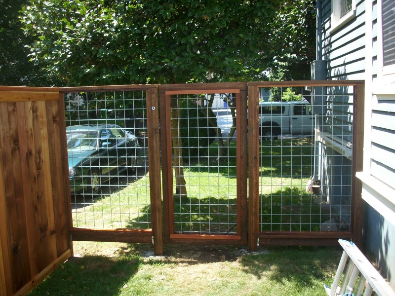Hog Panel Fence And Gate Deck Masters Llc