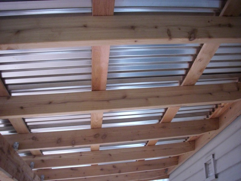 Corrugated Patio Cover