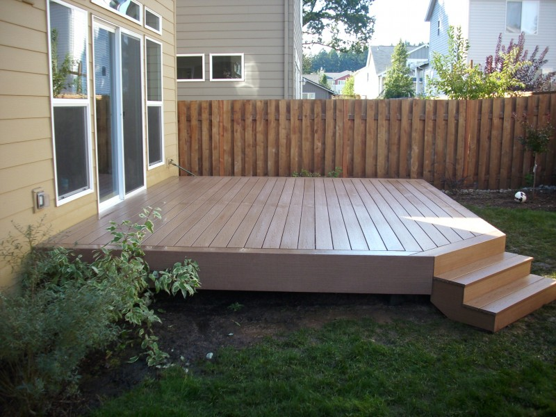 Composite Deck Least Expensive Composite Decking