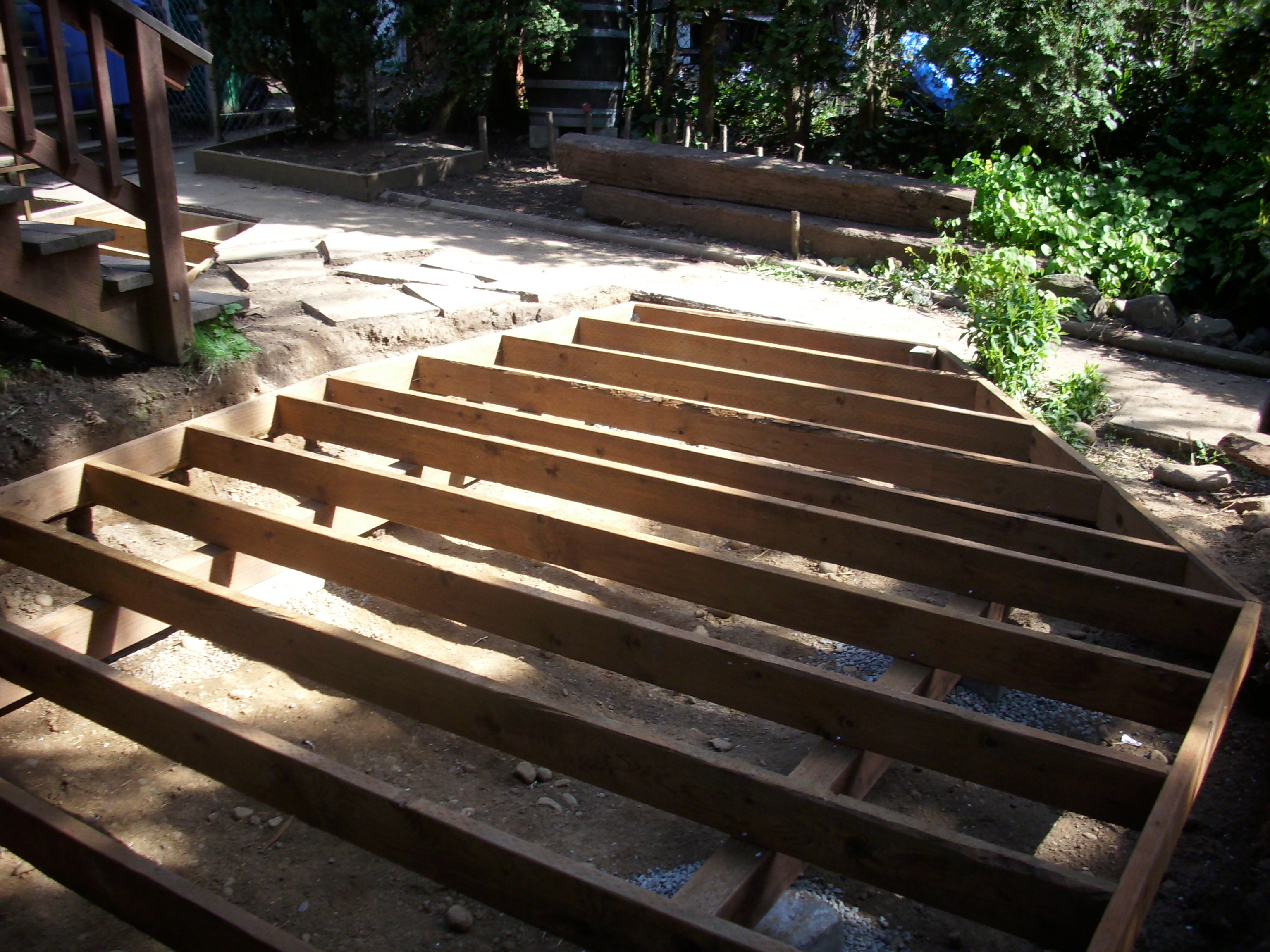Deck framing | Deck Masters, llc - Portland, OR