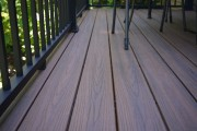 Trex Spiced rum decking