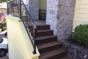 Trex entry stairs