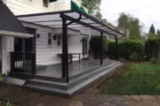 Acrylite cover with Trex