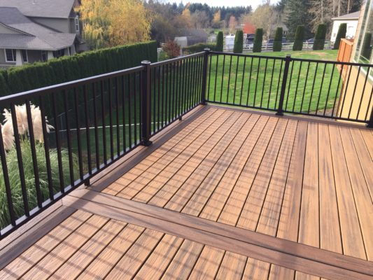 Which composite decking is the best deck masters llc for Compare composite decking brands