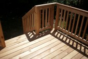 cedar deck and railing