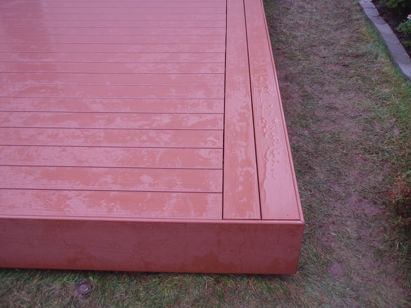 Mountain Cedar PVC Deck