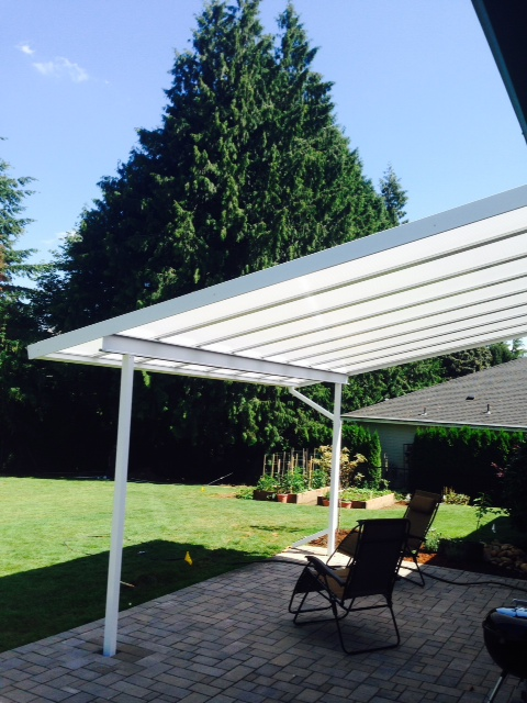 Acrylite Aluminum And Acrylic Patio Cover