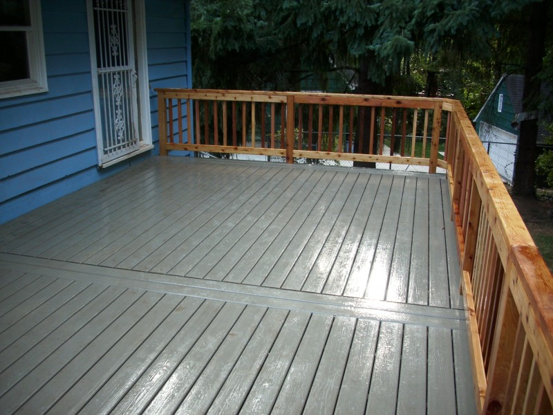 tamko elements cape cod grey composite deck w cedar