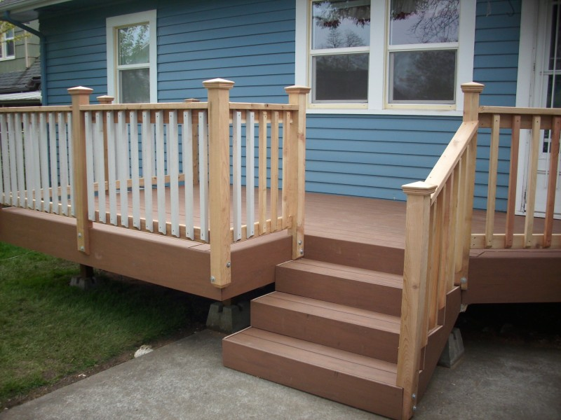 Trex Select Stair Railing Installation 17 Best Images