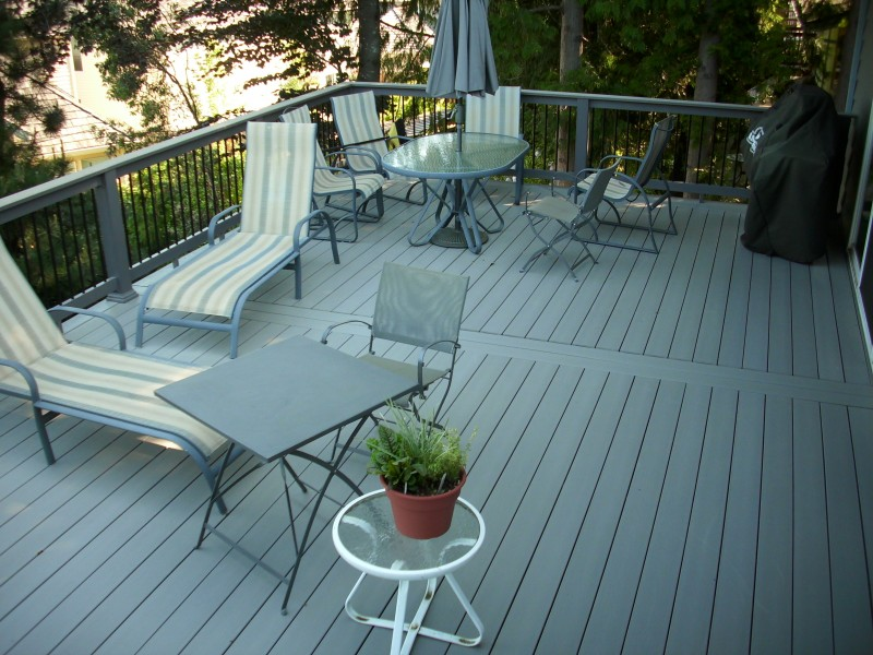 Timbertech XLM Second Story Deck