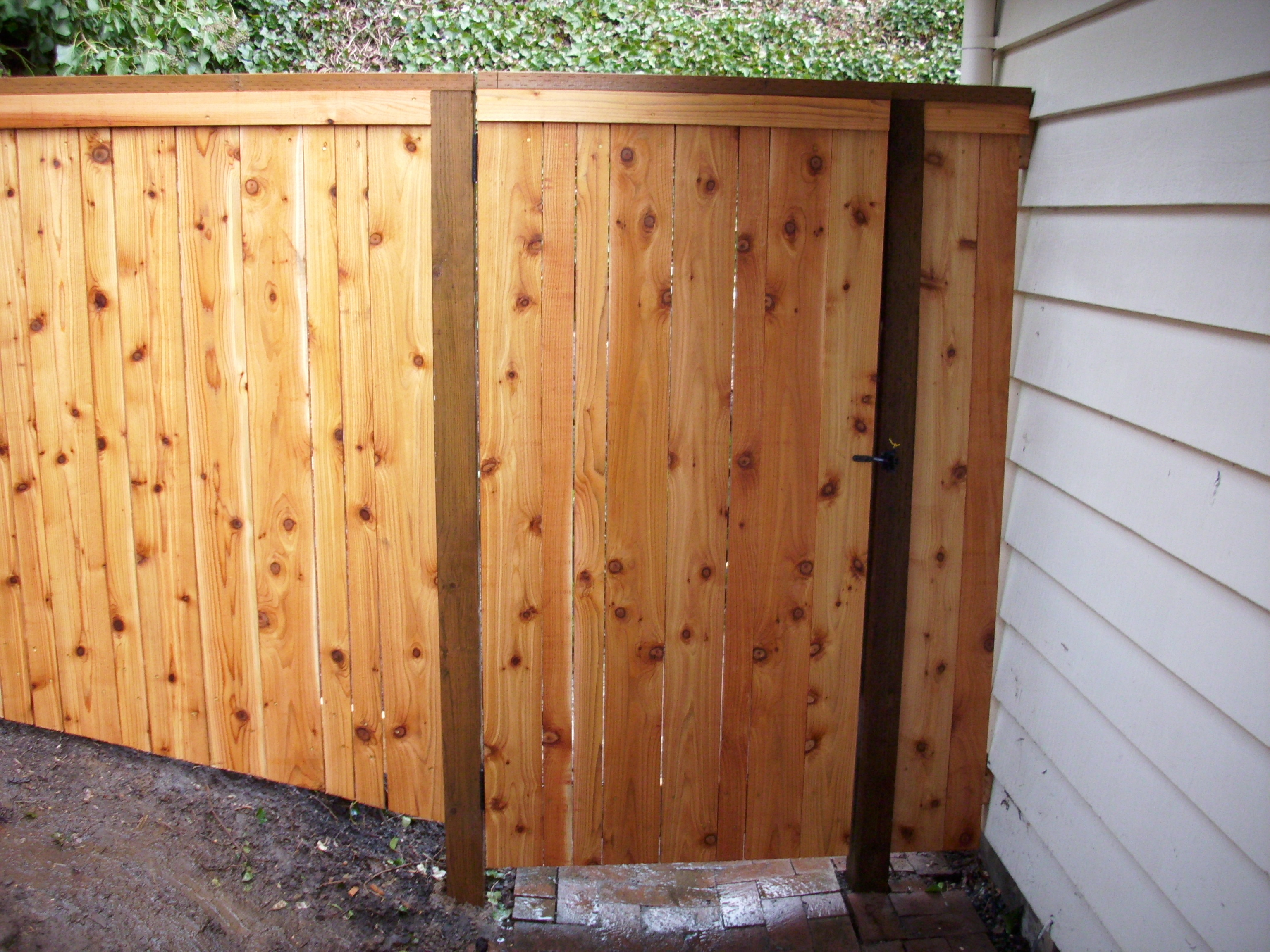 Small Stair Step Fence And Gate Deck Masters Llc