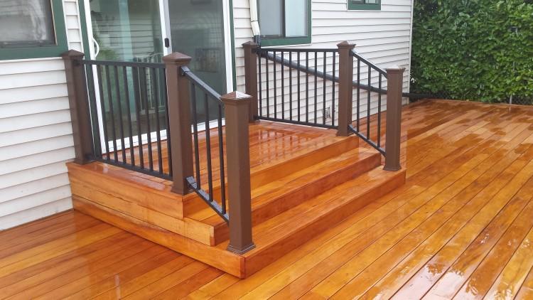 Fijian Mahogany Deck Deck Masters Llc