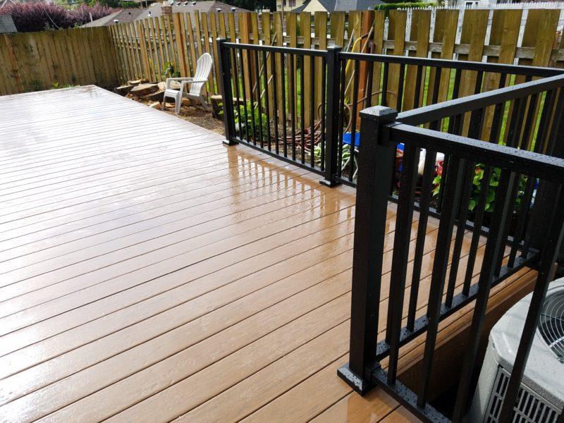 Timbertech Brown Oak Terrain Deck Deck Masters Llc