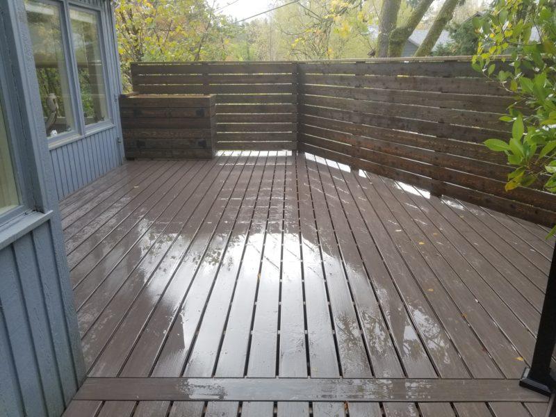 Azek Dark Hickory Pvc Deck Deck Masters Llc