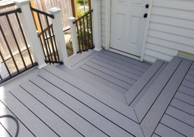 Trex Select Pebble Grey deck