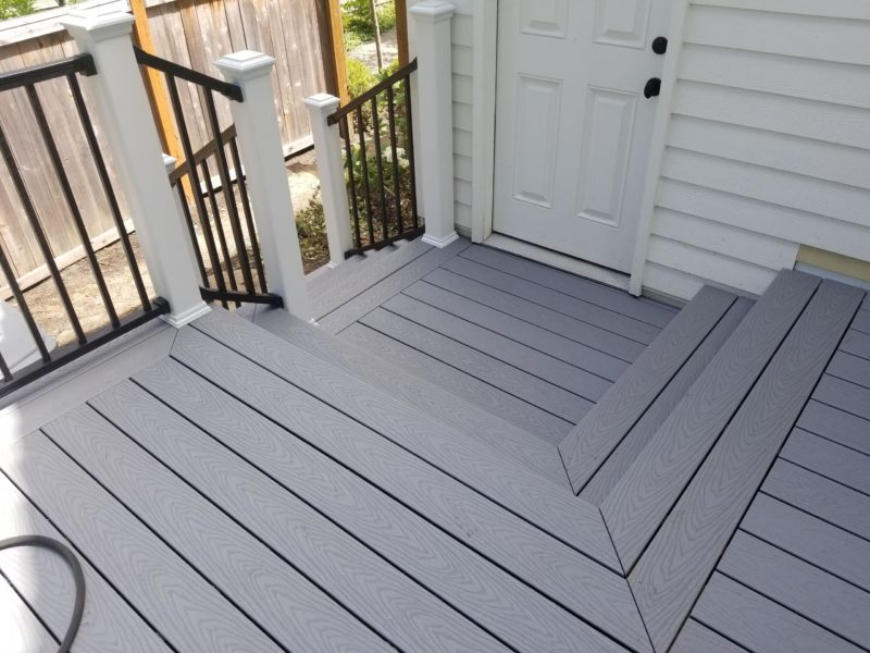 Trex Select Pebble Grey Deck Deck Masters Llc