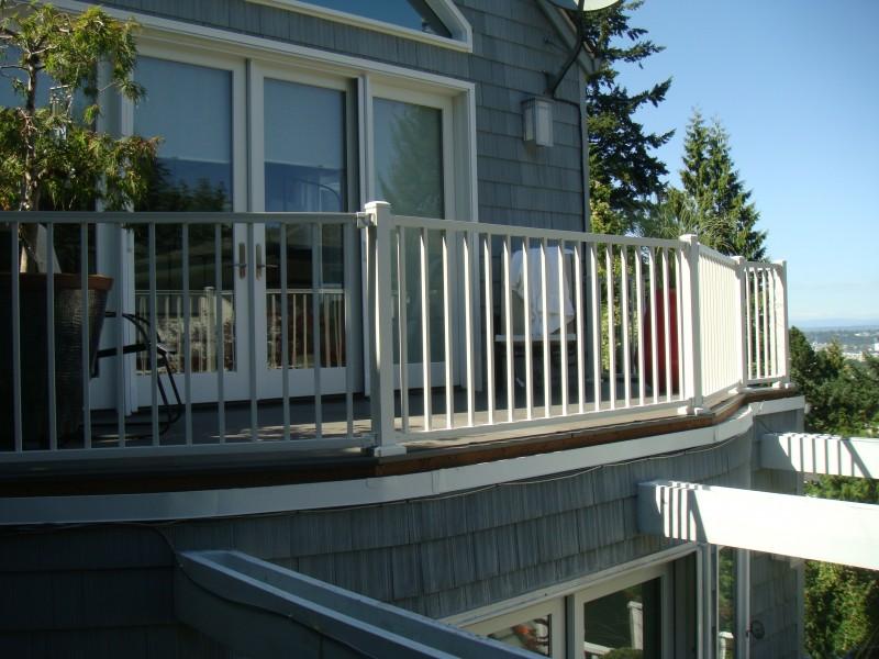 Trex Reveal aluminum railing | Deck Masters, LLC