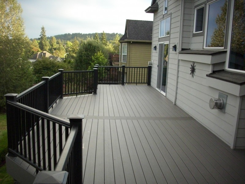 Timbertech Slate Earthwood Evolutions deck