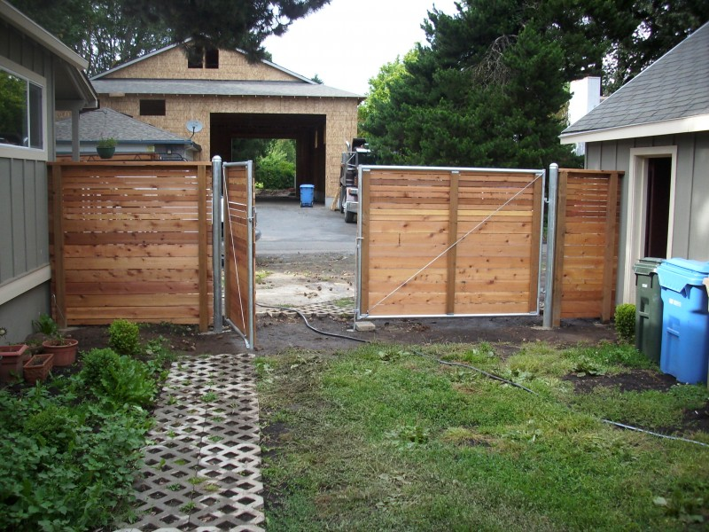 Heavy duty welded gate