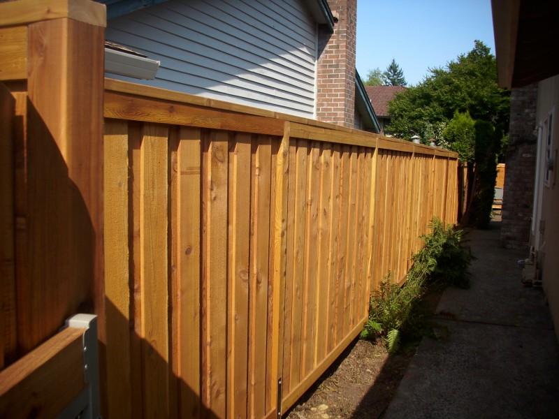 True privacy fence