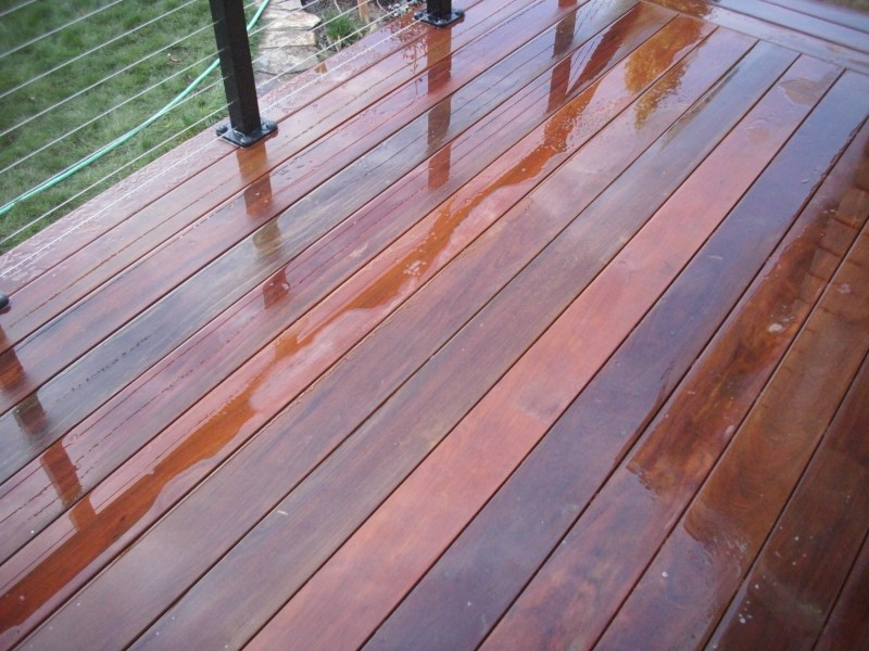 Ipe Deck With Stainless Steel Cable Rail Deck Masters Llc