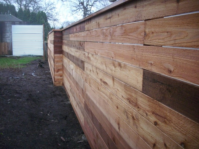 Japanese Style Horizontal Fence Deck Masters Llc