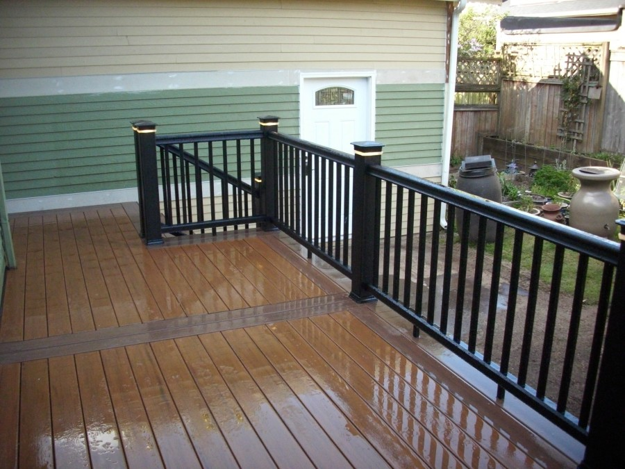 Pacific walnut and Pacific teak decking