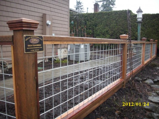 """Hog Panel"" fencing"