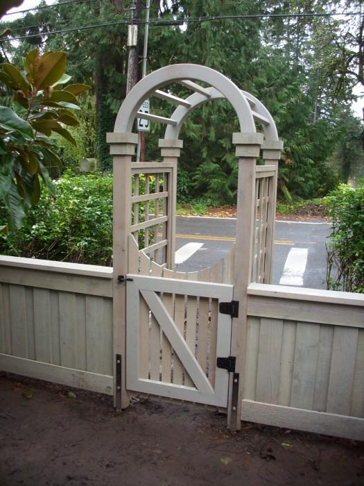 Succulent panel fence