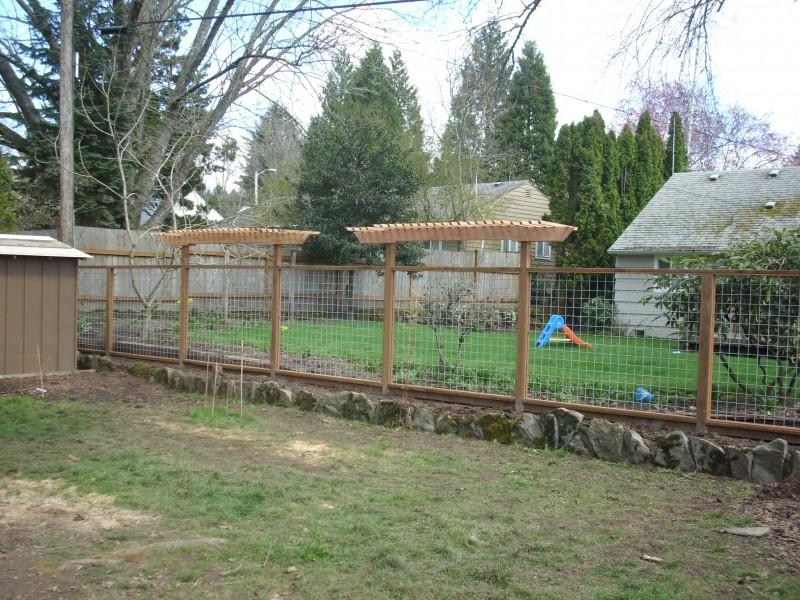 Fence arbors