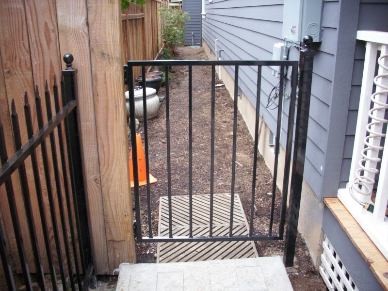 Pressed Spear Top Fortress Iron Fence Deck Masters Llc