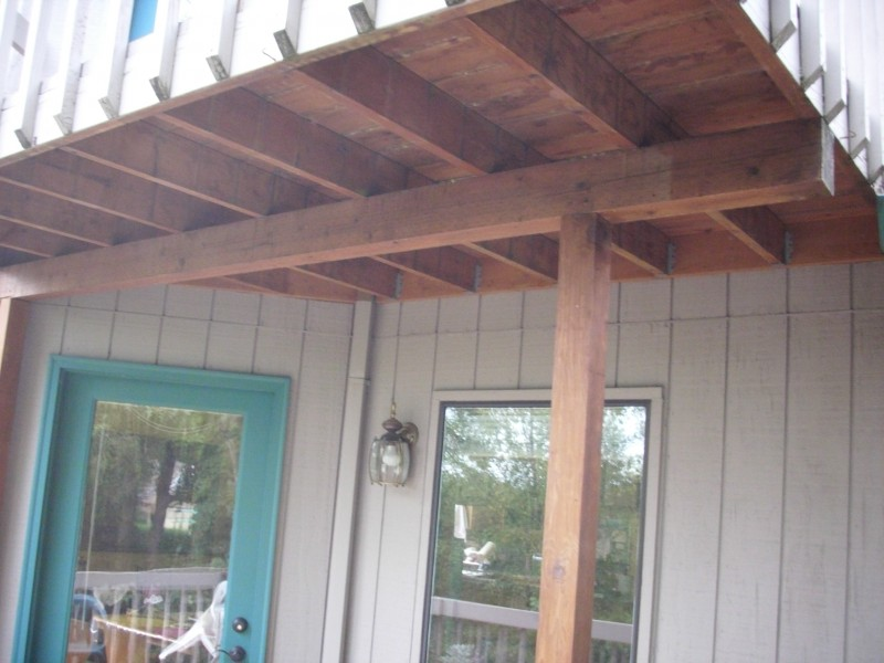Dryspace under deck drainage system