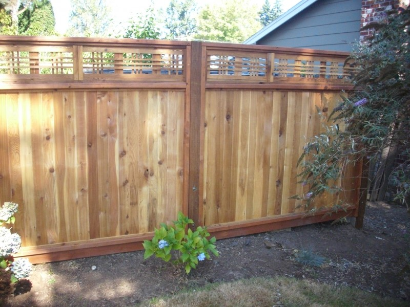 Japanese Lattice Top Fence Deck Masters Llc