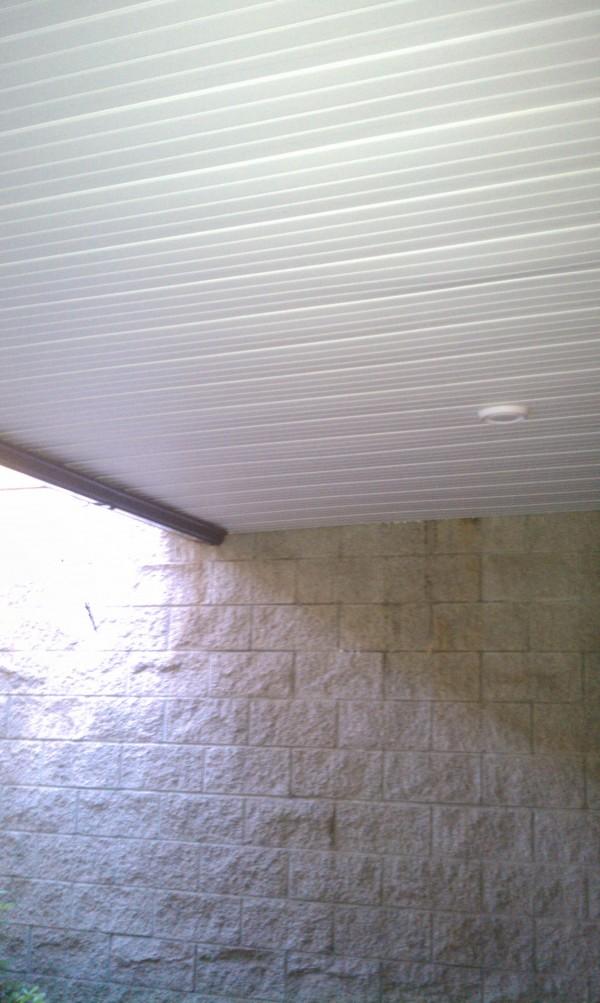 Drysnap under deck drainage