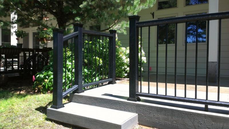 Fiberon Composite Deck In Grey Birch Color Deck Masters Llc