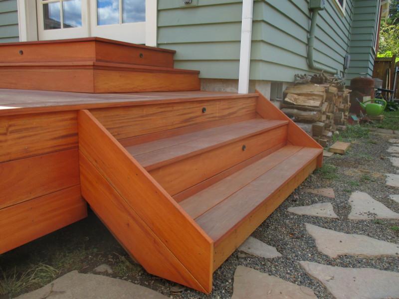 Fijian mahogany deck