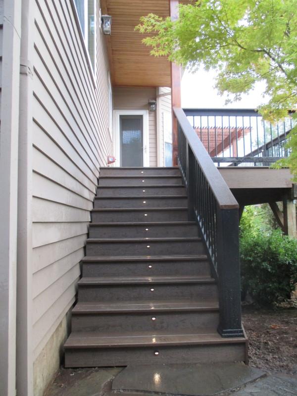 Timbertech Composite Deck With Cedar Pergola Deck