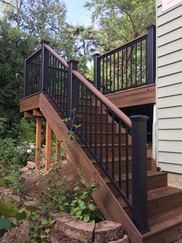 Beautiful Trex Deck Deck Masters Llc